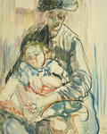 Belgian Mother and Child