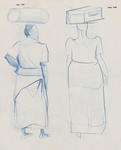 Untitled (Two figures in blue)