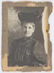 Eliza Collier wearing a hat