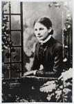 Studio portrait of a young Eliza Collier