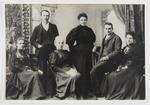 Studio portrait of members of the Parkes family.