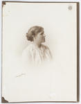 Studio portrait of Ula Goldsbury.