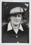 Portrait of Edith Collier in later years