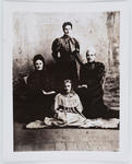 Studio portrait of Edith Collier, her mother and two grandmothers