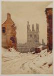 Ruins of Cloth Hall, Ypres, Belgium; Christmas 1917