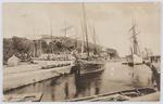 Postcard of Pentewan Harbour to Edith Collier.