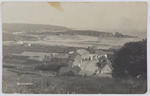Postcard of a black and white photograph of Bonmahon.
