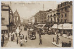 Postcard of Regent Street, London from Edith Collier to Thea and Bill.