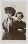 A postcard of Jan Kubelik and his wife to Edith Collier.