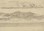 Untitled (Lyall Bay, Wellington and Pencarrow, Wairarapa)