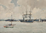Ships Auckland Harbour, 1913