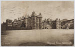 "Postcard titled ""Holyrood Palace. Edinburgh"" addressed to Edith Collier in Cornwall."