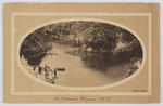 """Postcard titled """"The Waterworks Wanganui NZ"""" addressed to Edith Collier in London."""