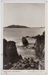 """Postcard titled """"Ross Island, Kirkcudbright"""" from Edith Collier to her father."""