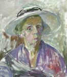 Untitled (Self Portrait with a Hat)