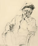 Untitled (Seated Man)