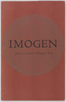 Imogen. Poems by Joanna Margaret Paul