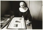 Mother Edmund Campion, Prioress of Tyburn. She is responsible for the spiritual and temporal needs of the community.