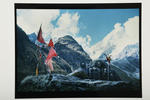 Mt Kedernath, India-Tibet border, 1974