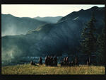 Monks from Labrang Monastery, Amdo, North East Tibet, 1990