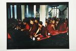 Assembly, Ganden Shartse Monastery, South India, 1994