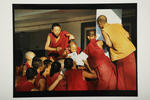 Mail call, Drepung Monastery, South India, 1994