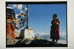 Young Monk, Spitik Monastery, Ladakh, 1995