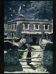 Village girl, Lhagong, Kham, East Tibet, 1990